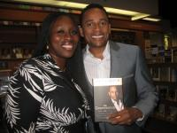 Our CEO and Hill Harper