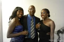 Mr. Knox and his beautiful daughters
