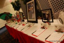 Our Silent Auction Table!