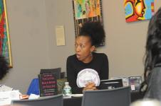 Our Moderator..Marie Eusebe
