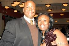 Pastor Jamaal Bernard and Cindy Senyah Baah. Thanks for blessing us Pastor!