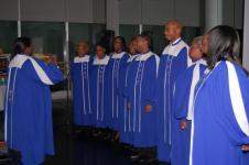 The Mt Pleasant Christian Church Choir sings....Jacob's Ladder
