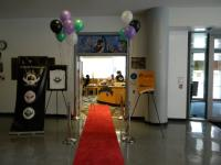 We rolled out the red carpet VIP style....